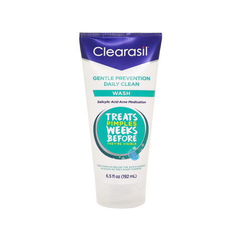 Clearasil Gentle Prevention Daily Clean Wash 192ml