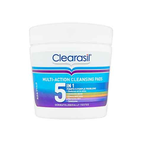 Clearasil Multi - Action 5 In 1 Cleansing Pads