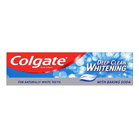 Colgate Deep Clean Whitening Fluoride Toothpaste with Baking Soda 100ml