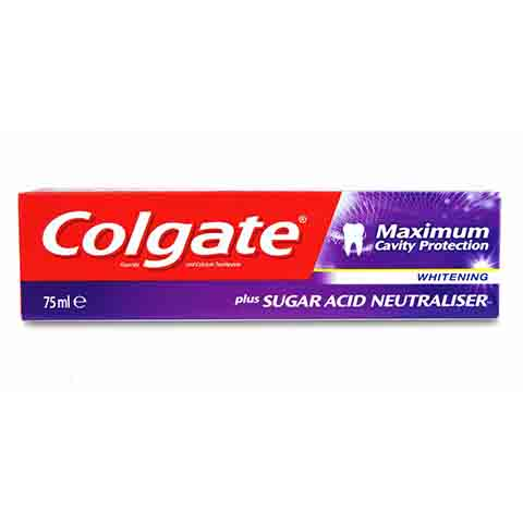 Colgate Maximum Cavity Protection Whitening Toothpaste 75ml