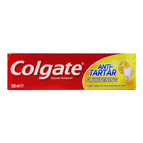 Colgate Toothpaste Anti Tartar +Whitening 100ml