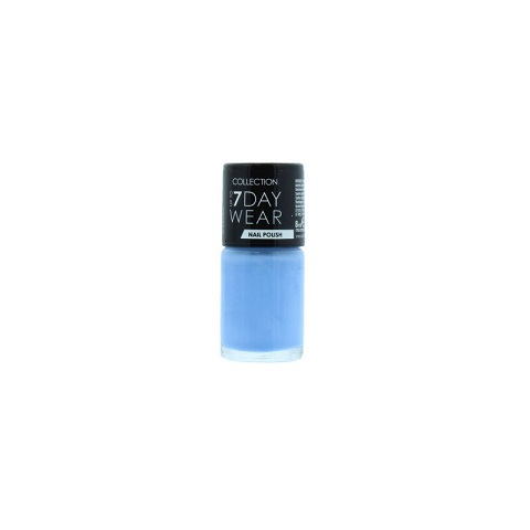 Collection Up To 7 Day Wear Nail Polish 8ml - 22, Baby Blue