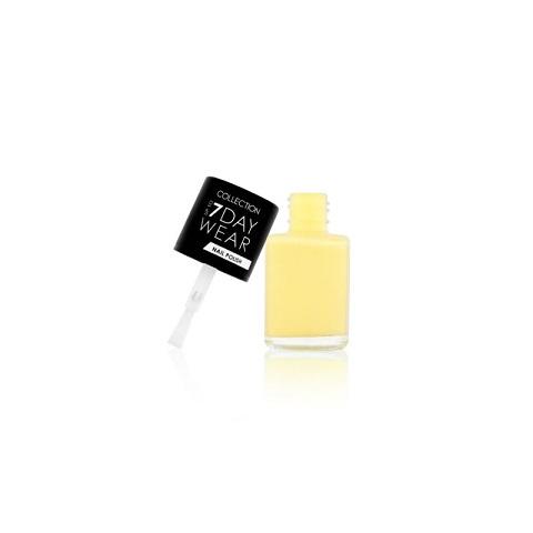Collection Up To 7 Day Wear Nail Polish 8ml - 27, Lemon Meringue