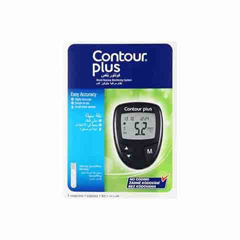 Contour Plus Blood Glucose Meter Kit