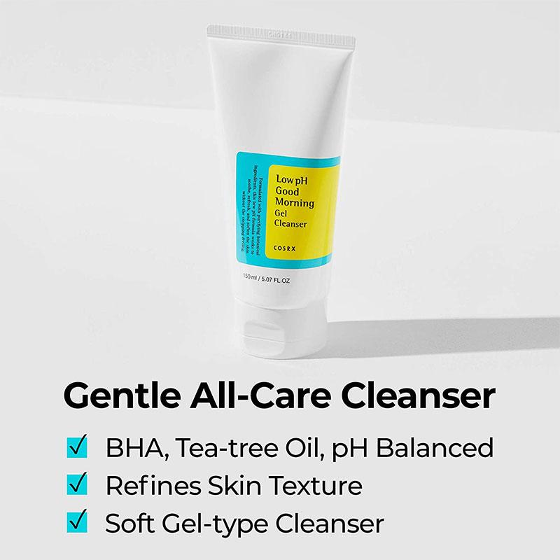 COSRX Low pH Good Morning Gel Cleanser 150ml