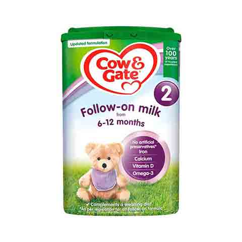 Cow & Gate Follow On Milk 2 From 6-12 Months  800g
