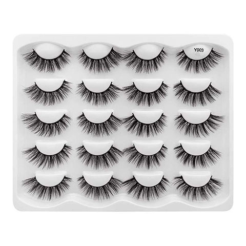 Cross-Border 3d False Eyelashes 10 Pairs - Y003