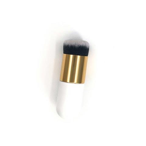 Cross-Border Single Makeup Brush - White (20117)