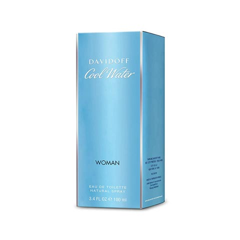 Davidoff Cool Water Eau De Toilette Natural Spray for Women 100ml
