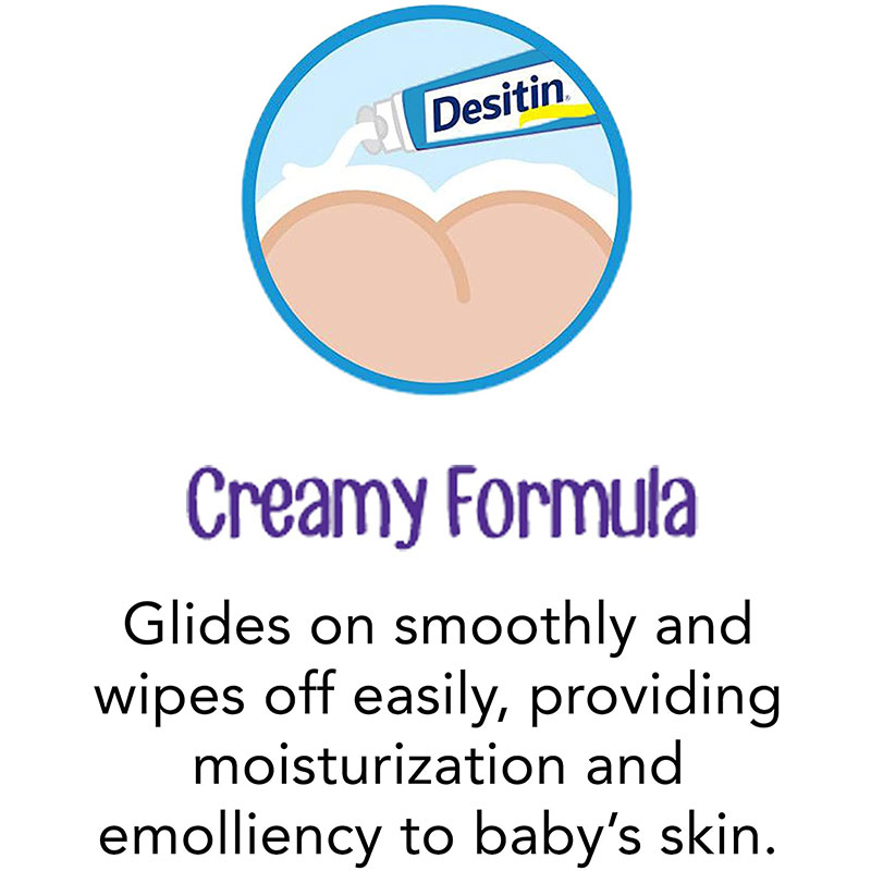 Desitin Daily Defense Zinc Oxide Diaper Rash Cream 57g