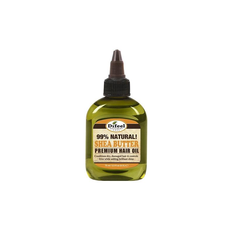Difeel Natural Shea Butter Premium Hair Oil 75ml