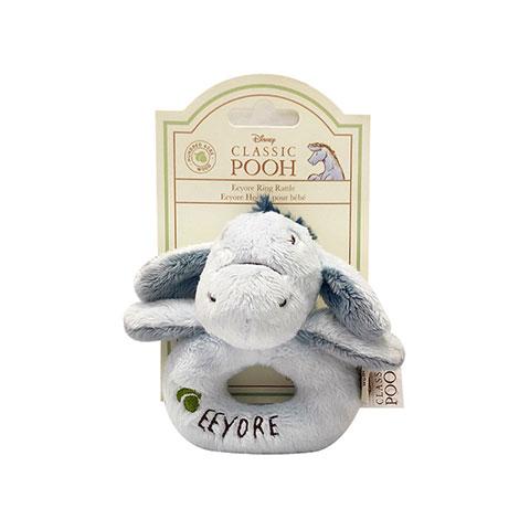 Disney Classic Pooh Ring Rattle - Eeyore (4788)