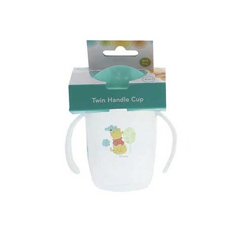 Disney Winnie The Pooh Twin Handle Cup 6m+ - Green
