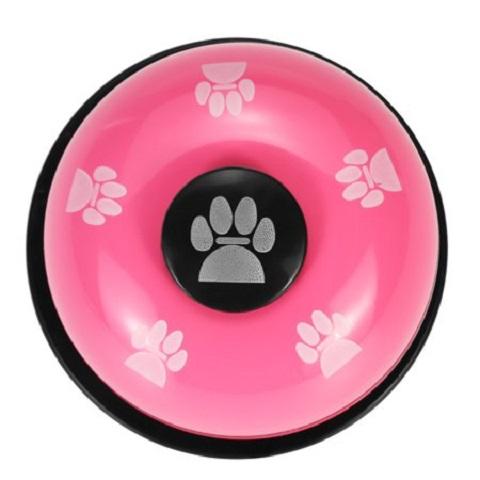 Dog Paw Prints Training Ring Bell