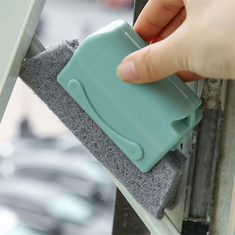 Door & Window Groove Cleaning Gap Brush