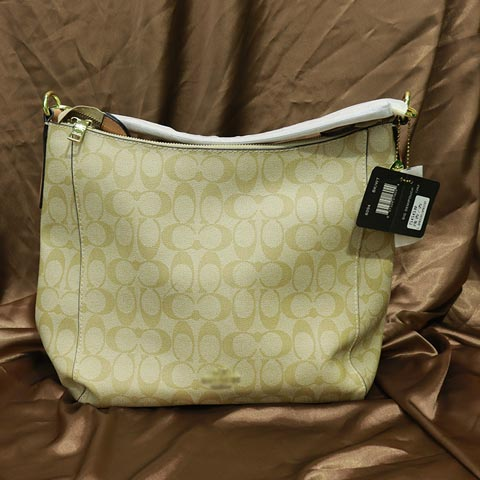 Double C Printed Inspired By Ladies Handbag (566) - Apricot