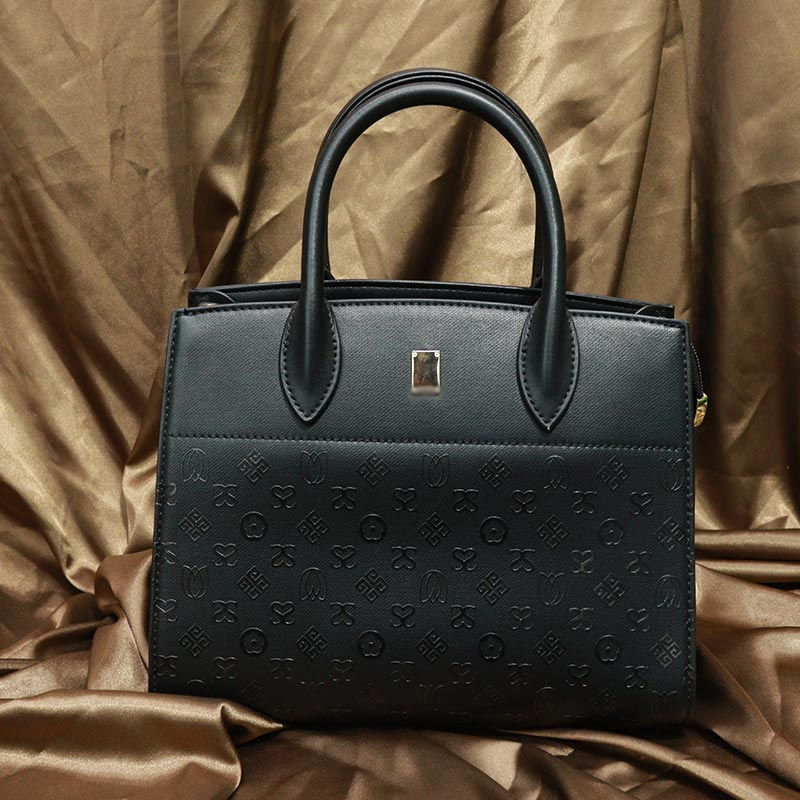 Double S Printed Inspired By Classic Handbag (AA101905316) - Black