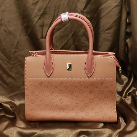 Double S Printed Inspired By Classic Handbag (AA101905316) - Pink