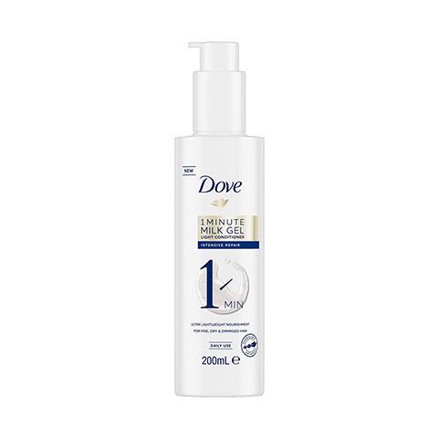 Dove 1 Minute Milk Gel Weightless Volume Light Conditioner 200ml