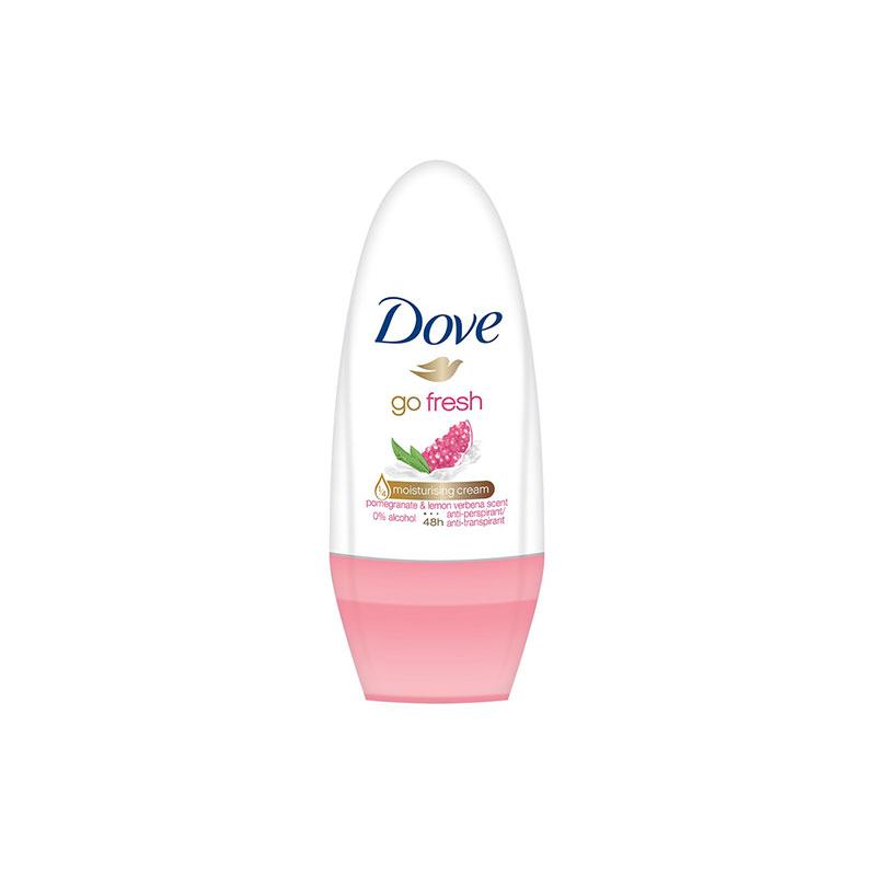 Dove Antiperspirant Pomegranate Deodorant Roll On Go Fresh 50ml
