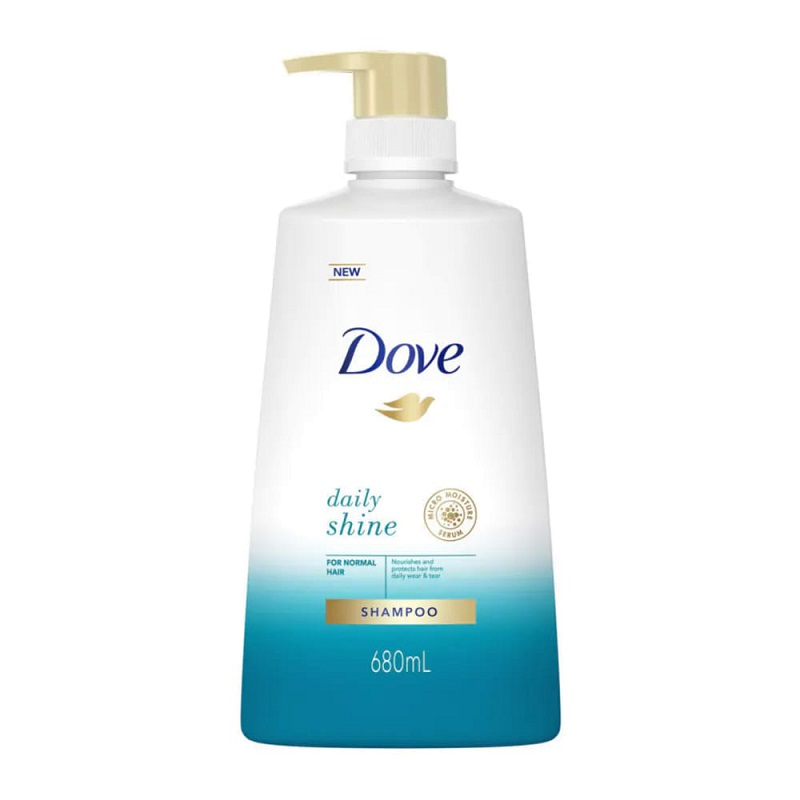Dove Daily Shine Shampoo For Normal Hair 680ml