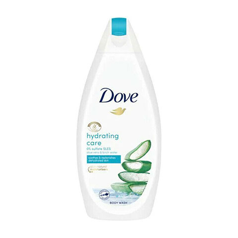 Dove Hydrating Care Aloe Vera & Birch Water Body Wash 450ml