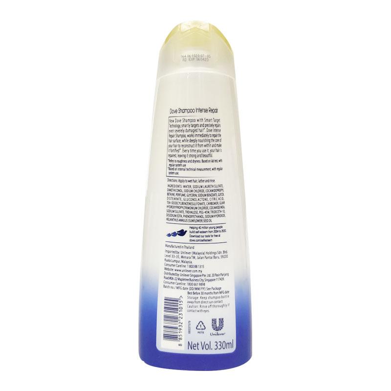Dove Intense Repair Shampoo 330ml
