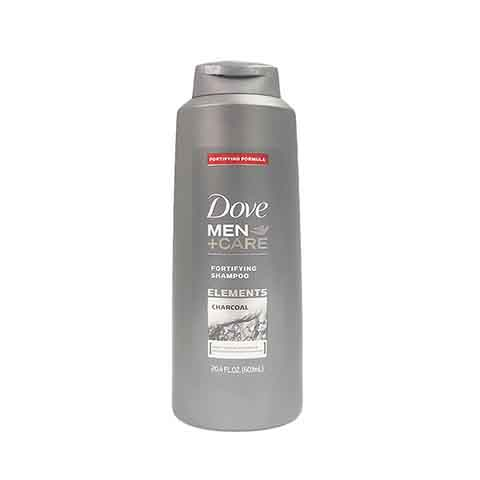 Dove Men+Care Elements Charcoal Fortifying Shampoo 603ml