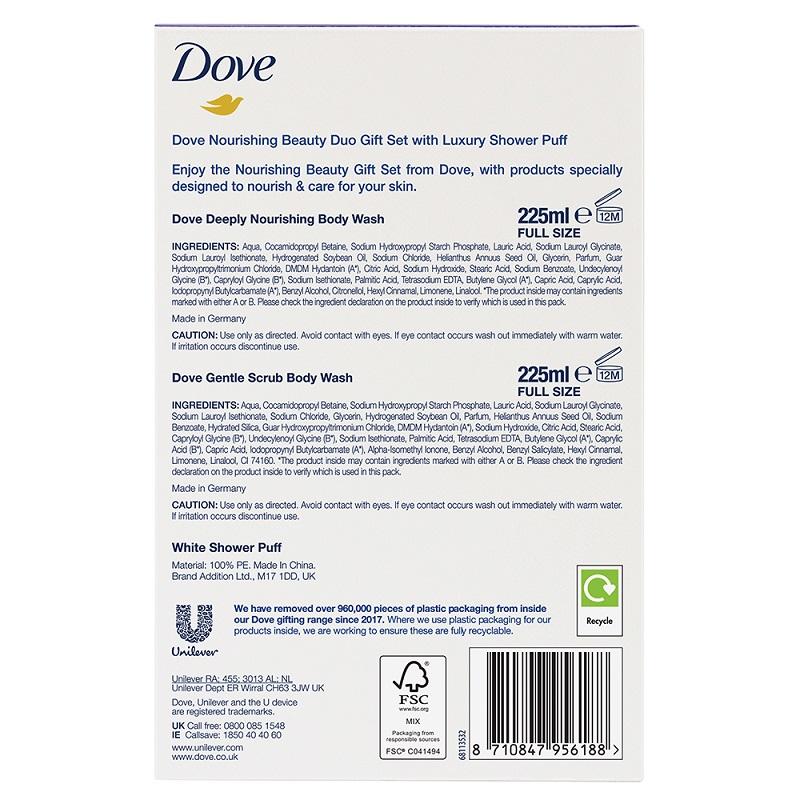 Dove Nourishing Beauty Duo Gift Set