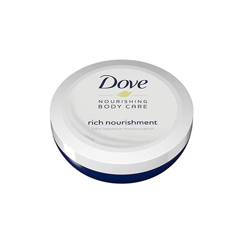Dove Nourishing Body Care Rich Nourishment Cream 150ml - 24hrs Moisturisation