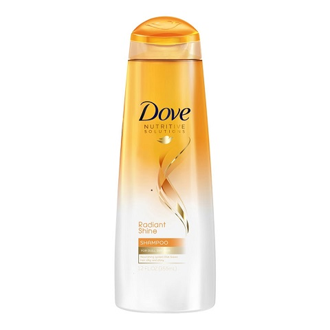 Dove Nutritive Solutions Radiant Shine Shampoo For Dull Dry Hair 355ml