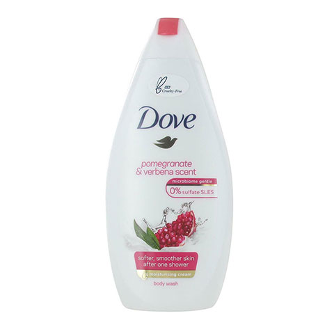 Dove Pomegranate & Verbena Scent Body Wash 450ml