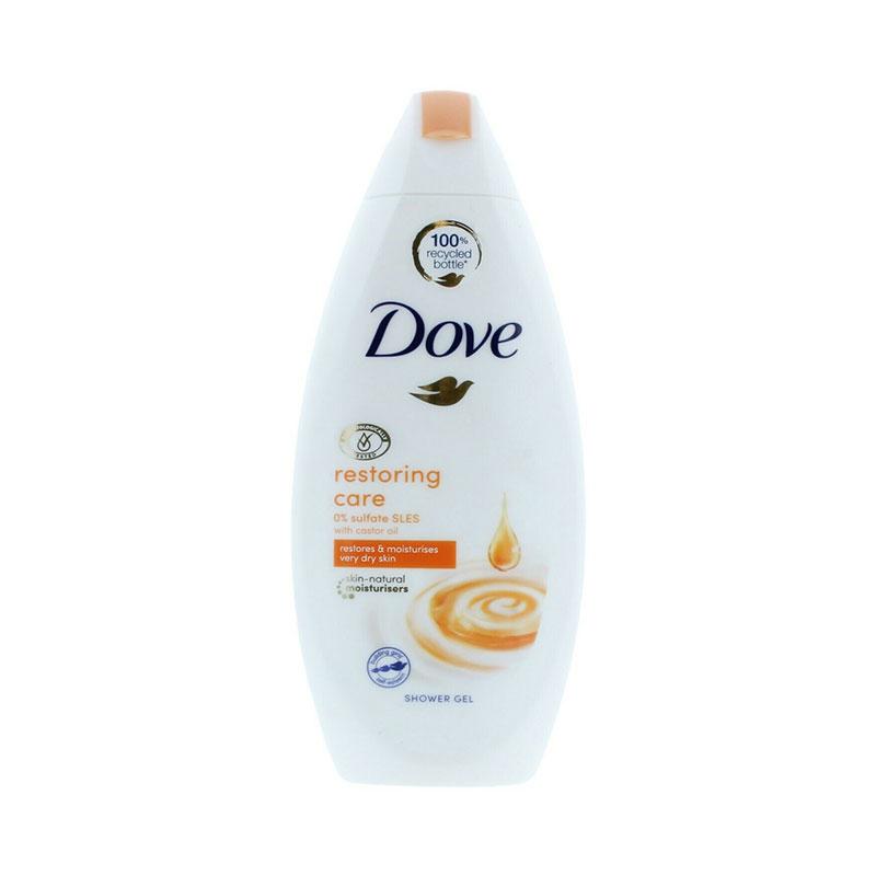 Dove Restoring Care with Castor Oil Shower Gel 250ml