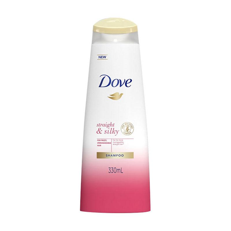 Dove Straight & Silky Shampoo 330ml