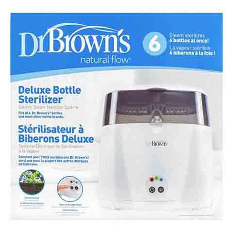 Dr Brown's Deluxe Bottle Electric Steam Steriliser (3986)