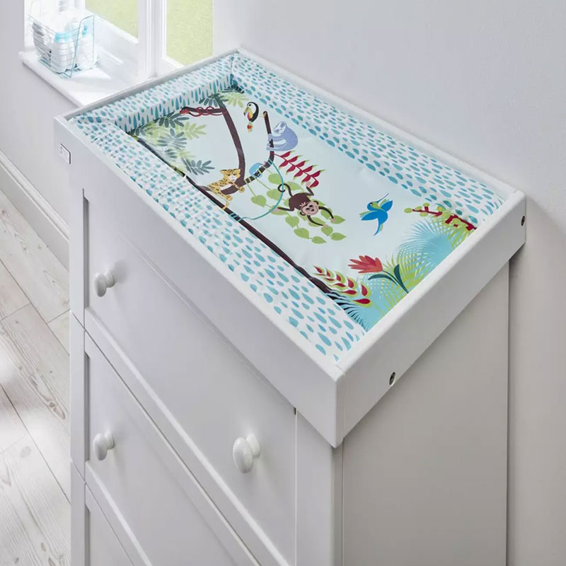East Coast Nursery Tropical Baby Changing Mat (9551)