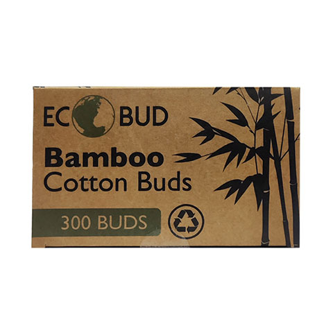 ECOBUD Bamboo Cotton Bud - 300 Buds