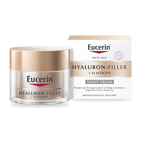 Eucerin Anti-Age Hyaluron Filler + Elasticity Night Cream 50ml