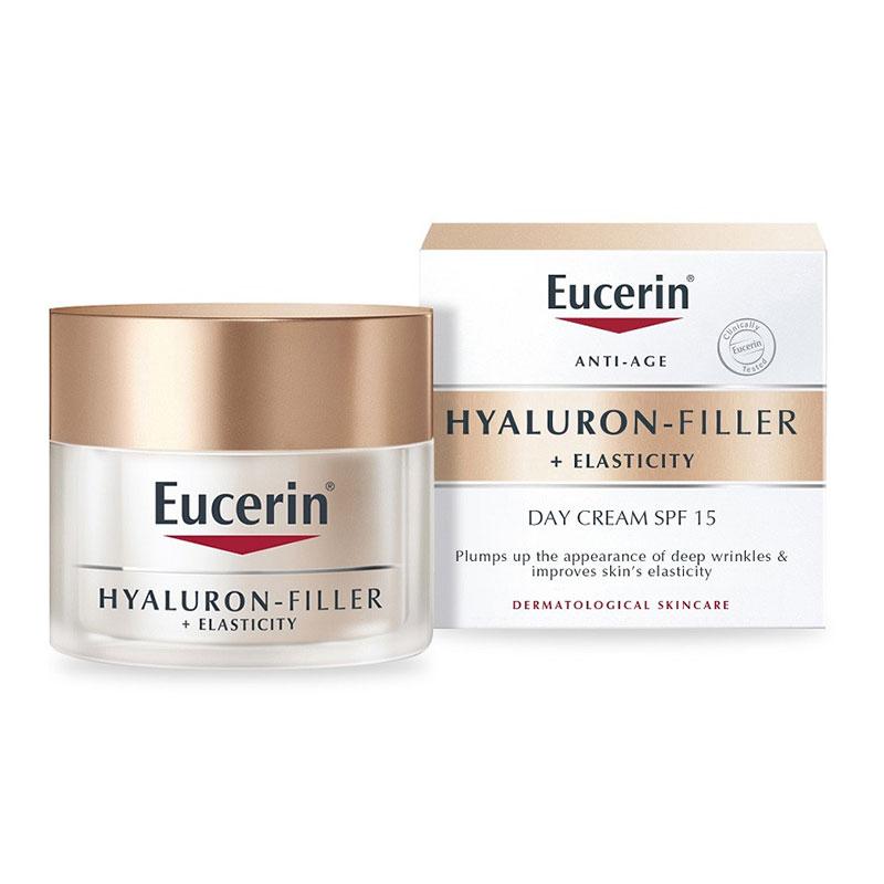 Eucerin Anti-Age Hyaluron Filler + Elasticity SPF15 Day Cream 50ml