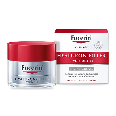 Eucerin Anti-Age Hyaluron Filler + Volume Lift Night Cream 50ml