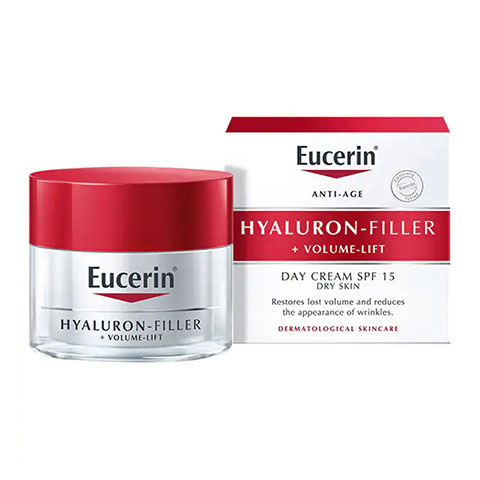 Eucerin Anti-Age Hyaluron Filler + Volume Lift SPF15 Day Cream 50ml