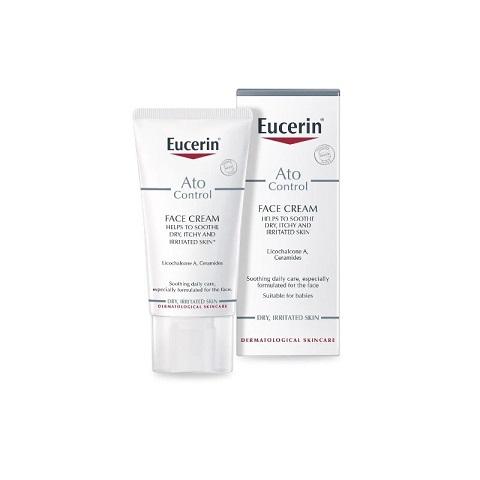 Eucerin Ato Control Face Cream For Dry, Irritated Skin 50ml