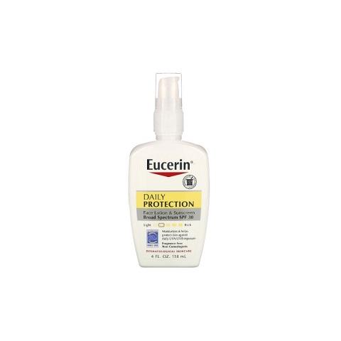 Eucerin Daily Protection Face Lotion & Sunscreen 118ml - SPF 30