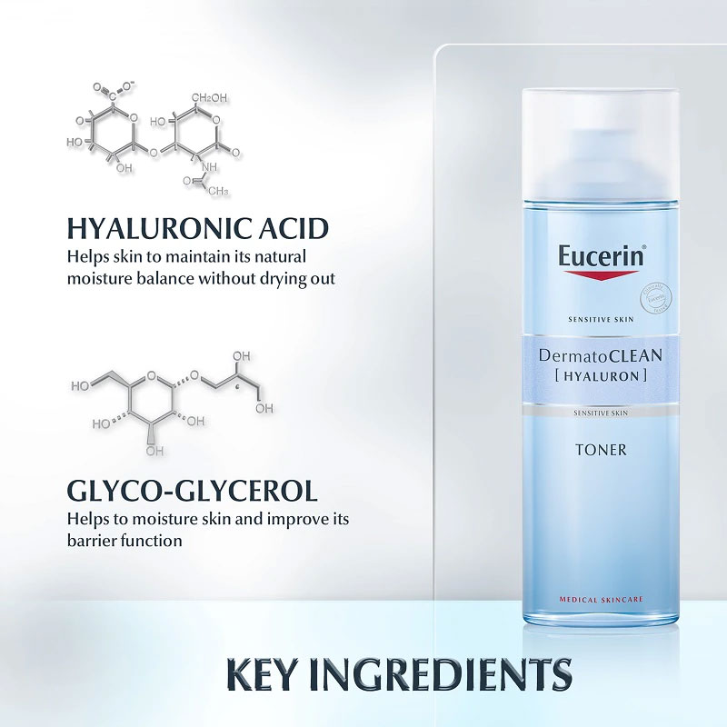 Eucerin DermatoClean Hyaluron Toner 200ml