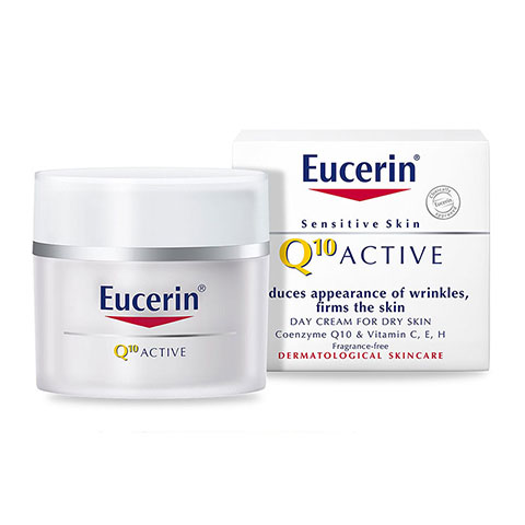 Eucerin Sensitive Skin Q10 Active Day Cream for Dry Skin 50ml