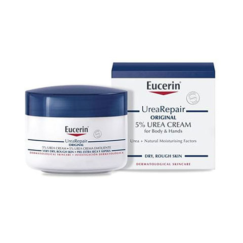 Eucerin UreaRepair Original 5% Urea Cream For Body & Hands 75ml
