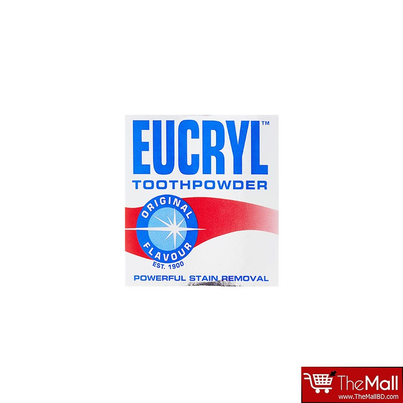 Eucryl Powerful Stain Removal Original Flavour Tooth Powder 50ml