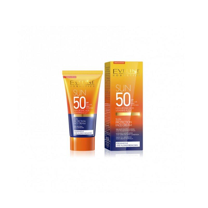 Eveline Cosmetics Sun Protection Face Cream 50ml - SPF50