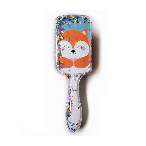 Exclusive Quicksand Sequin Hairdressing Comb - Paste Orange