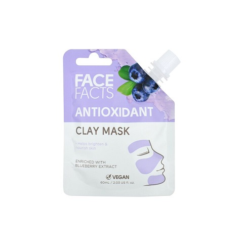 Face Facts Antioxidant Clay Mask 60ml